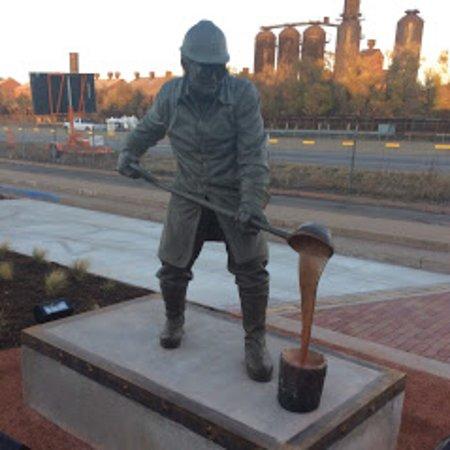 Steelworks Bin Man