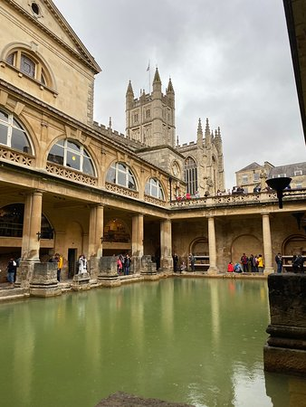 Stonehenge, Windsor Castle, and Bath from London: Roman Baths