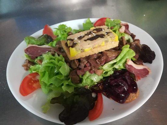 Saix, Frankrike: Salade gourmande