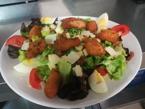 Saix, Frankrike: Salade César