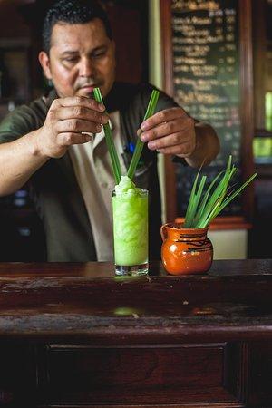 Bamboo Room Bar Lemon Grass Colada