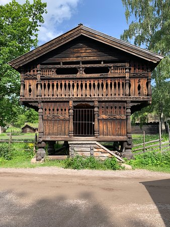 Storehouses in Setesdal