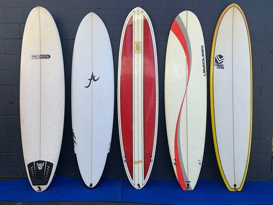 Great quiver of hire boards available