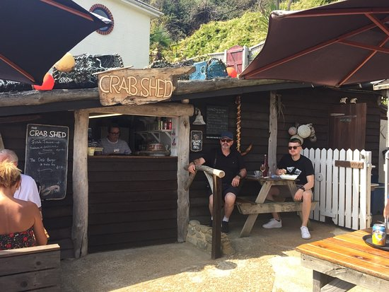 The Crab Shed: Crab Shed