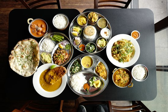 food at Annapurna