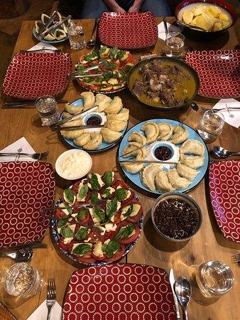 Tibetan style dinner