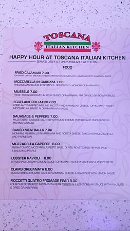 Happy hour available at the bar 4-7 every day 😊😊