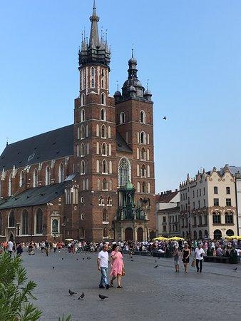St. Mary's in Rynek Glowny