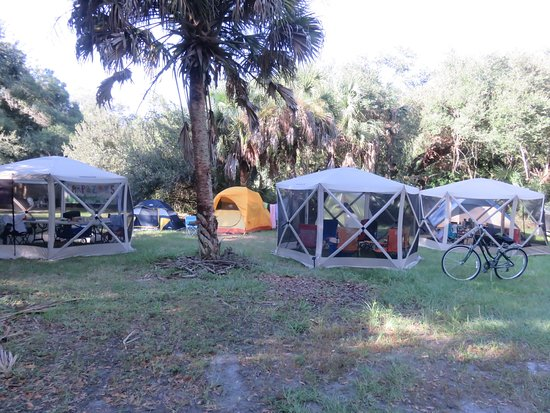 this is just some of our group's members tenting it near the pool