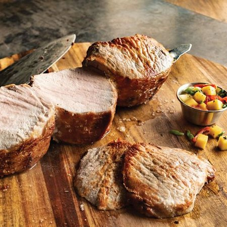 Pork Picanha - Lightly seasoned, tender, fire-roasted and carved tableside.