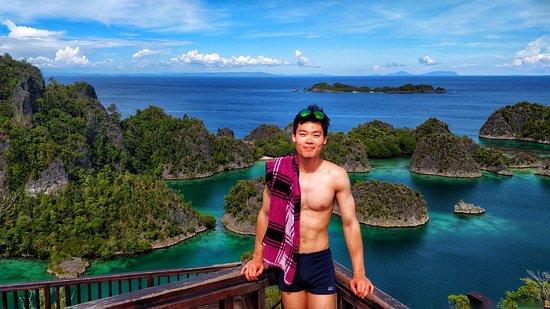 Kri Island, Indonesia: Piaynemo