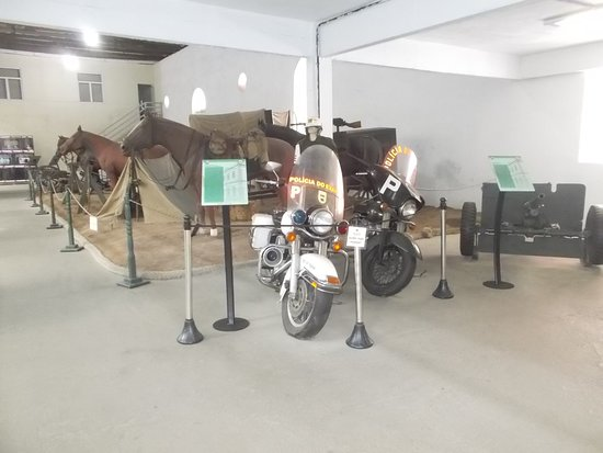 Some motorcycles for military use (in the room to the right from the entrance)