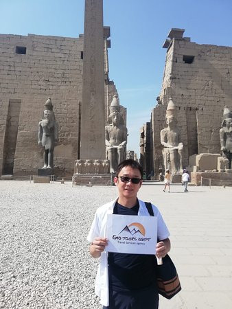 Welcome To Luxor with emo tours egypt