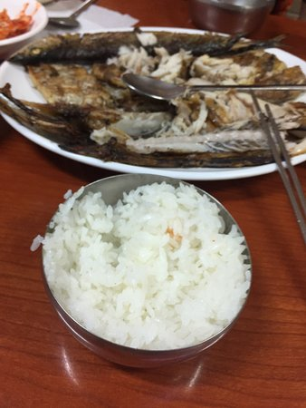 Seoul, South Korea: This fish was 26000 won but we paid 10000