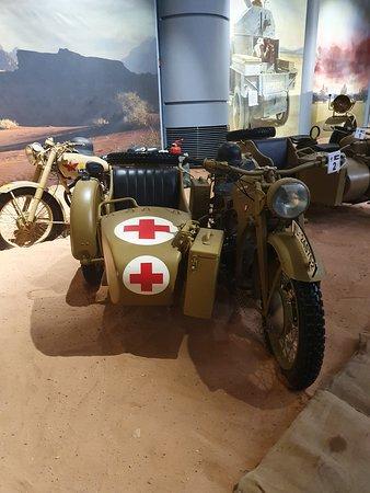 Amman, Yordania: The  The bikes used on the desert during world war