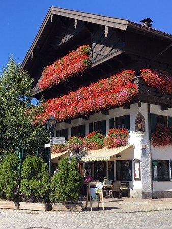 Oberammergau Village in the Alps
