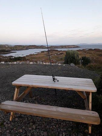 Free fishing in the lochans