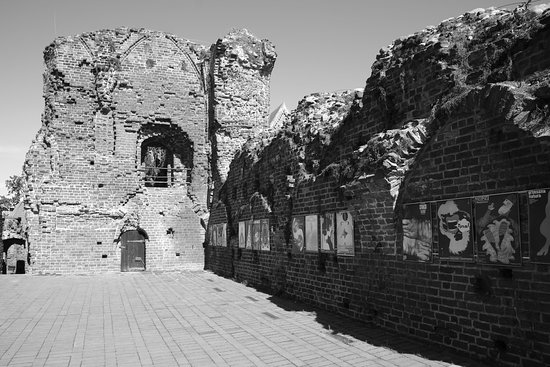 Torun, Poland,  - remains of the castle.