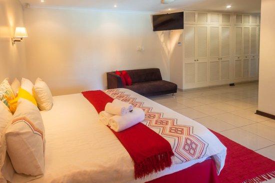 Umhlanga Rocks, Νότια Αφρική: Our luxury deluxe en suite room