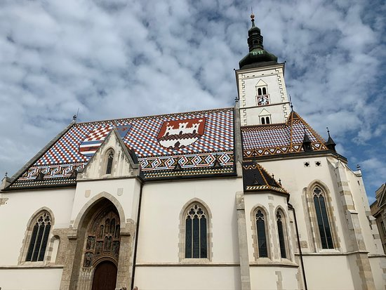 Best of Zagreb Private Tour with Funicular Ride and WW2 Tunnels: Church in old town