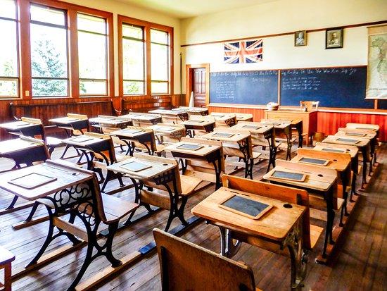 R.J. Haney Heritage Village & Museum: Classroom