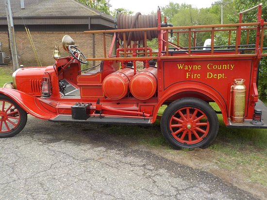 Westland, MI: The Eloise Fire Truck which is brought out for special occasions.