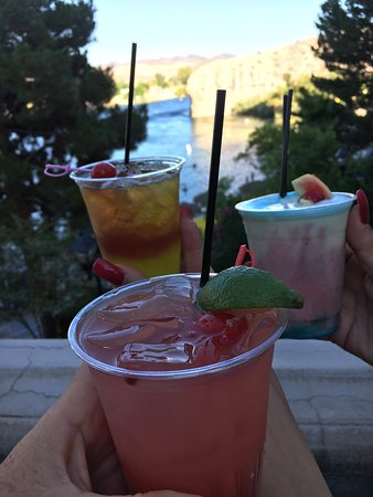 Enjoy a cocktail at the pool or beach in the summer
