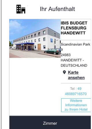 etap hotels deutschland karte Etap Hotel Flensburg Handewitt   Picture of Ibis Budget Flensburg