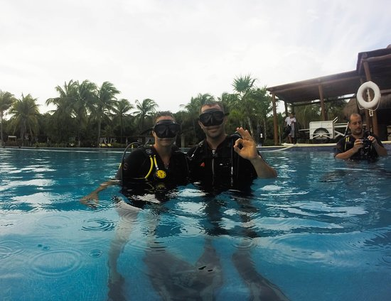 Everything's OK! Try Barrakuda Scuba, you be so glad you did!