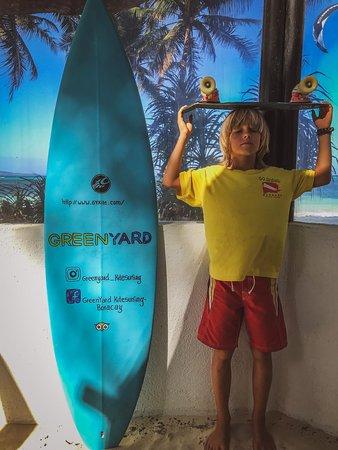 The future surfer