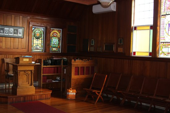 Little Cranberry Island (Islesford), ME: Organ in Congregational Church on Little Cranberry Island