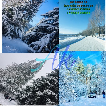 #WinterCalling #Georgia #SnowFun #Gudauri #Bakuriani #Tbilisi ❄️⛄️❄️⛄️❄️⛄️❄️  Hurry book your dream winter vacation with AK Tours in Georgia 🇬🇪 LLC. Come with your family, friends, group & as couples we have a special tour plan for you.  +995574071885 ,+995558786885 SONU  @ Tbilisi, Georgia
