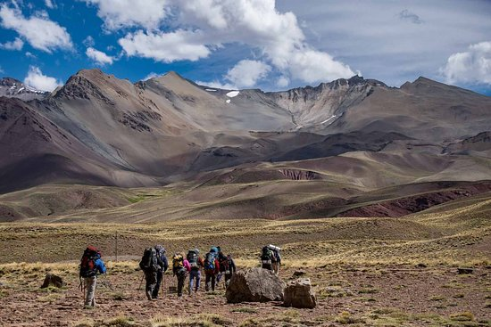 Andes Crossing trek from Argentina to Chile