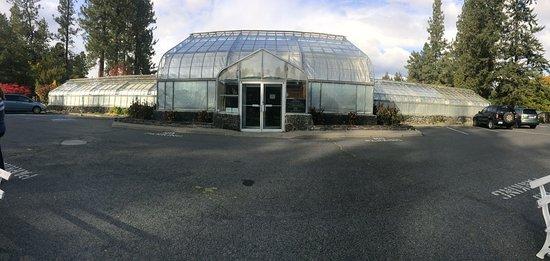 Gaiser Conservatory outside panorama