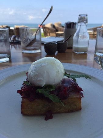 Breakfast each morning was in SeaSalt restaurant. Their poached eggs were prepared perfectly