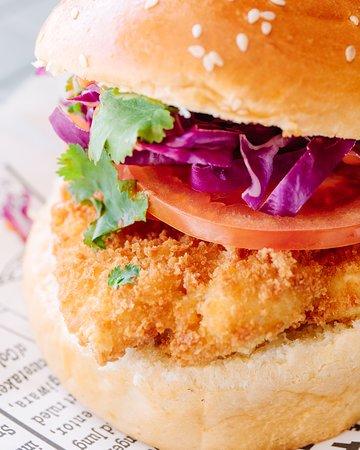 Our famous Tankk Burger!