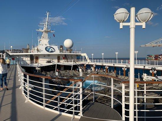 Mediterranean: Azamara Pursuit Track Top Deck
