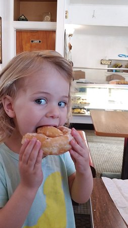These glazed donuts are kid tested and approved!