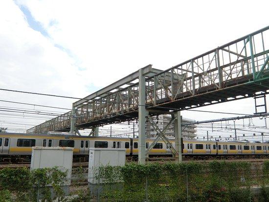 Mitaka Tram Shed Kosenkyo Bridge