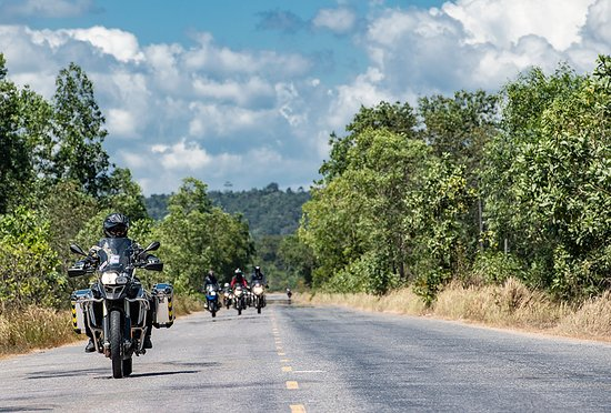 Thailand has great roads for motorbikes