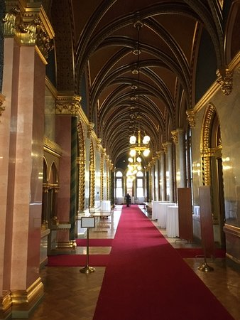 Hungarian Parliament Building - Inside