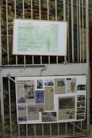 Bien aimé cette attraction gratuite qui m'a permis de connaître l'histoire de la résistance Corse durant la seconde guerre mondiale.