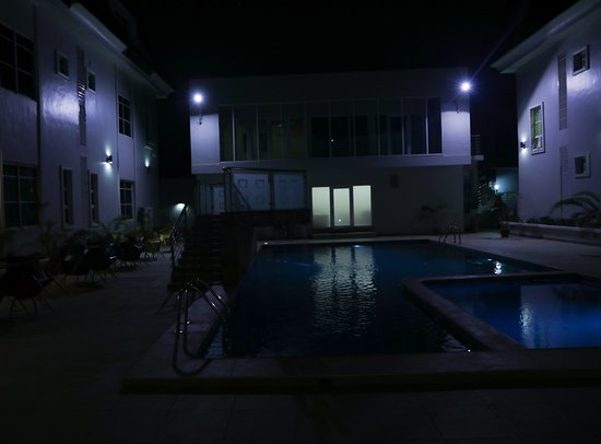 Akure, Nigeria: This night view makes me want to spend all the night here enjoying  fresh air and breath.