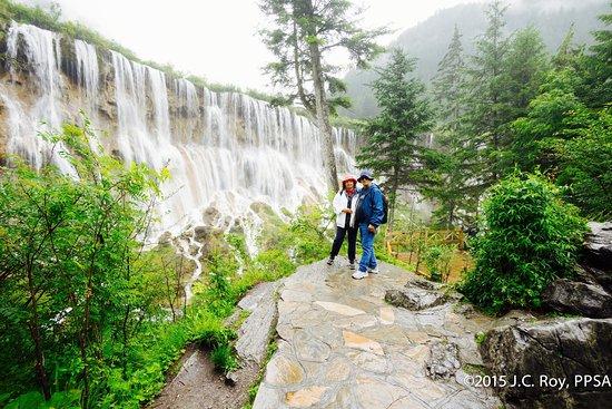 PART OF NUORILANG WATERFALL - CHINA