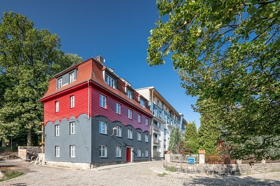 Liberec, جمهورية التشيك: Pytloun Flat Hotel