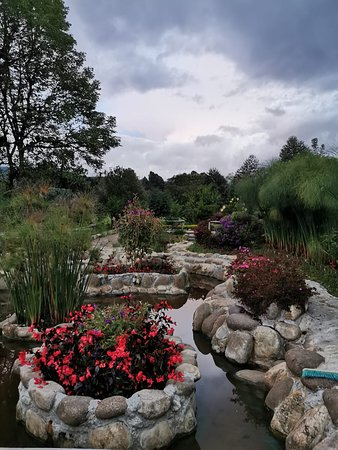 Sibundoy, Colombia: Jardines de  flores