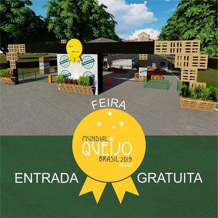 Mundial do Queijo do Brasil em Araxá. Agosto de 2019!!!