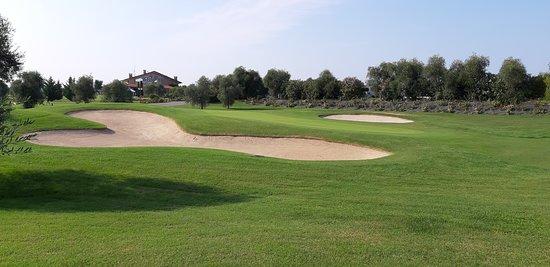 Panoramica del campo da golf