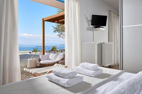 Pilio, Grecia: Sea View Suite Bedroom