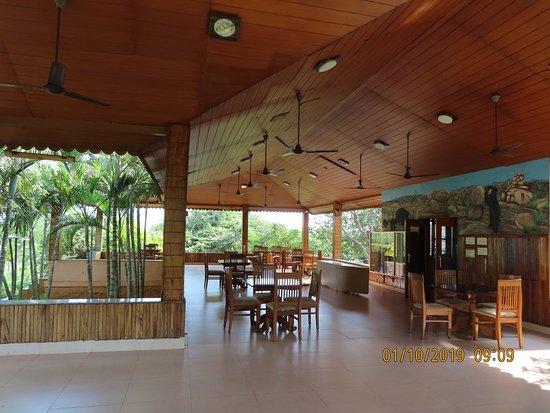 Reception cum Karadi Cafe